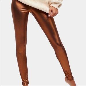 NWT free people shine girl leggings